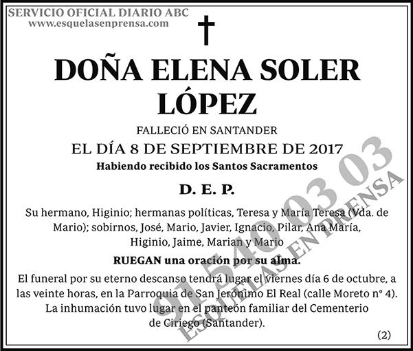 Elena Soler López